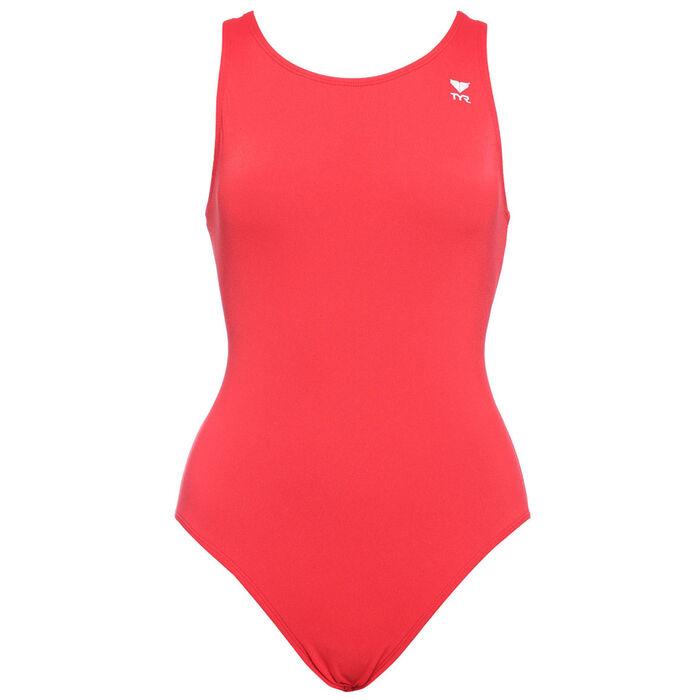 Women's Diamond Back One-Piece Swimsuit (Long)
