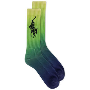 Men's Dip-Dye Crew Sock