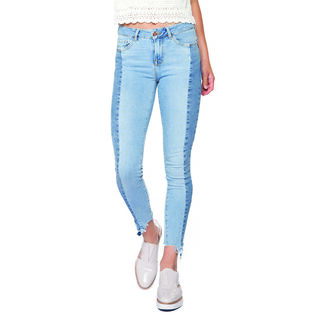 Women's Patchwork Crop Jean