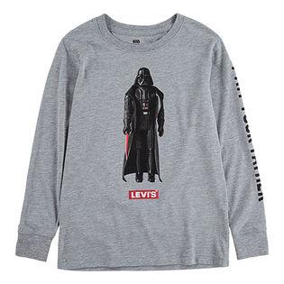 Boys' [2-4T] Star Wars™ Darth Vader Long Sleeve T-Shirt