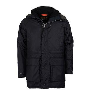 Men's Fenton Waxed Cotton Parka Jacket