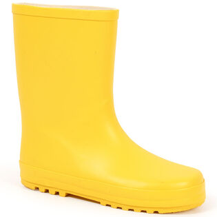 Kids' [11-4] Solid Rain Boot