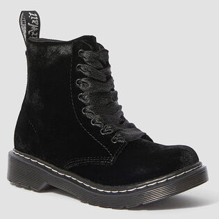 Juniors' [12-4] 1460 Velvet Boot