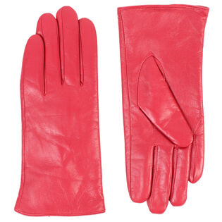 Women's Colour Leather Glove