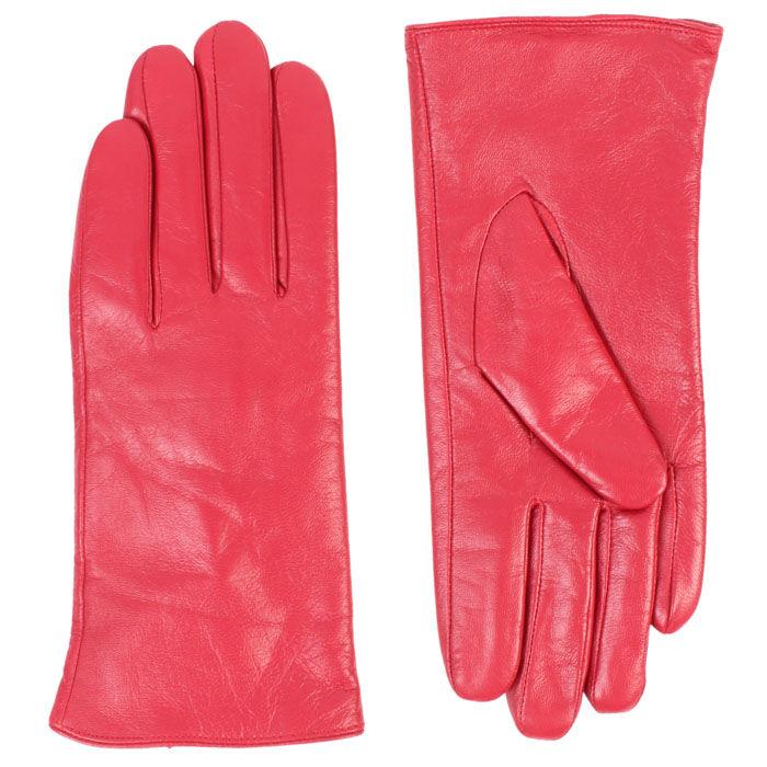 Women's Colour Leather Glove