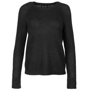 Women's Knit Crew Pullover Sweater