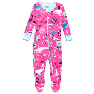 Babies' [0-24] Sweet Mermaid Footed Coverall