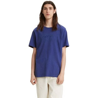 Men's Relaxed Graphic Stitch T-Shirt
