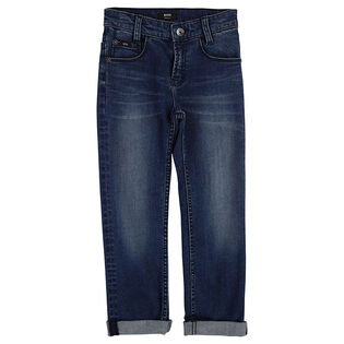 Junior Boys' [4-16] Medium Rinse Jean