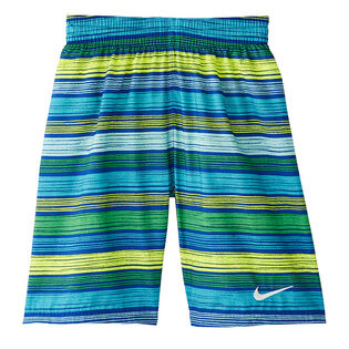 "Junior Boys' [8-16] 6:1 Stripe Breaker 8"" Swim Trunk"