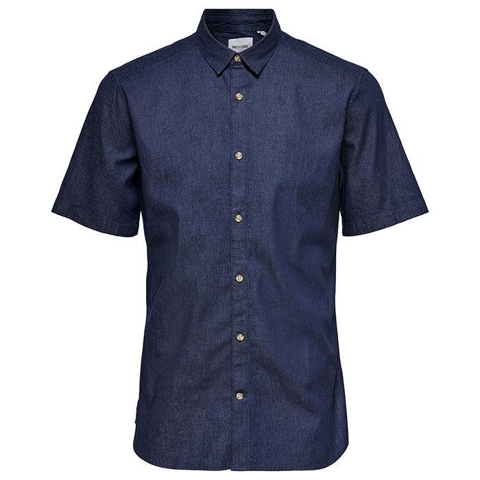 Chemise en chambray pour hommes