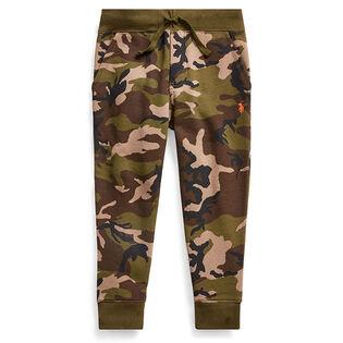 Boys' [5-7] Camo Print Fleece Jogger Pant