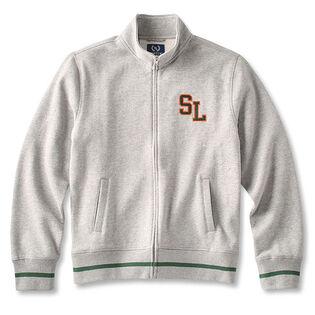 Men's Full-Zip Fleece Track Jacket