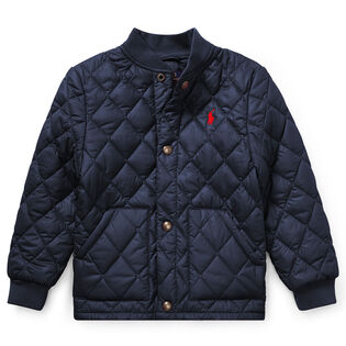Boys' [5-7] Quilted Baseball Jacket
