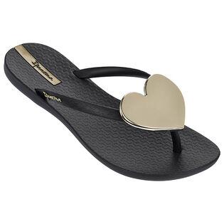 Women's Wave Heart Flip Flop Sandal