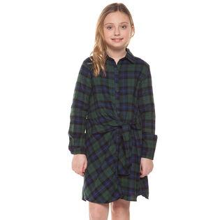 Robe à carreaux pour filles juniors [7-14]