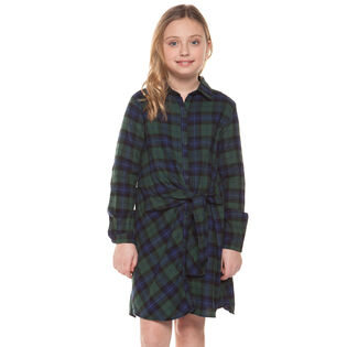 Junior Girls' [7-14] Plaid Dress