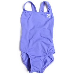 Junior Girls' [6-12] Durafast One-Piece Swimsuit