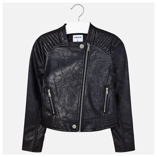 Junior Girls' [8-16] Leatherette Jacket