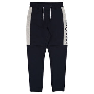 Junior Boys' [4-16] Colourblocked Jogger Pant