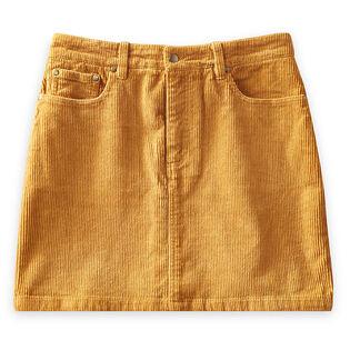 Women's Short Corduroy Skirt