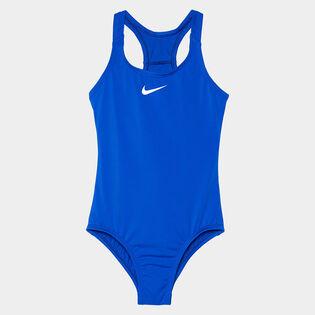 Junior Girls' [7-16] Solid Sport One-Piece Swimsuit