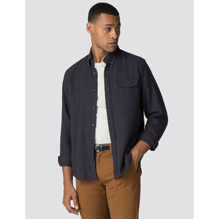Men's Textured Parquet Shirt