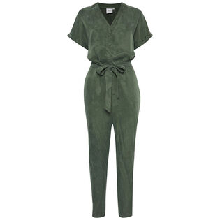 Women's Modern Belted Jumpsuit