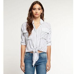 Women's Striped Knot Shirt