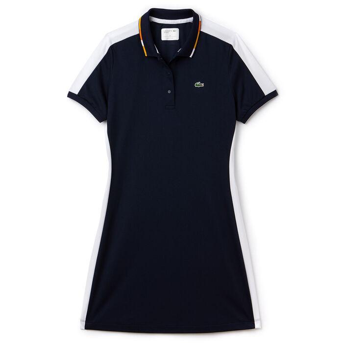 Robe polo en piqué Sport Tennis pour femmes