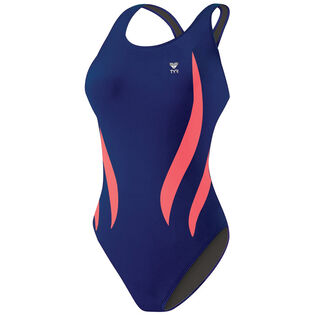 Women's Durafast Alliance Splice Maxfit One-Piece Swimsuit (Long)