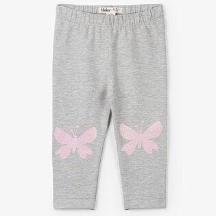 Baby Girls' [3-24M] Glitter Butterflies Legging