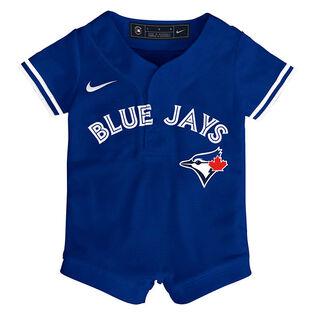 Babies' [3-6M] Toronto Blue Jays Alternate Replica One-Piece Jersey