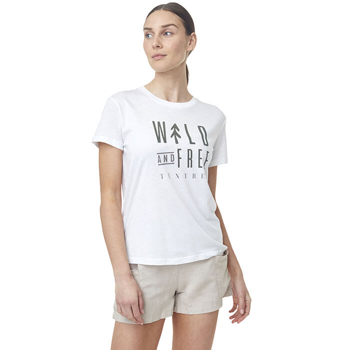 T-shirt Wild And Free pour femmes
