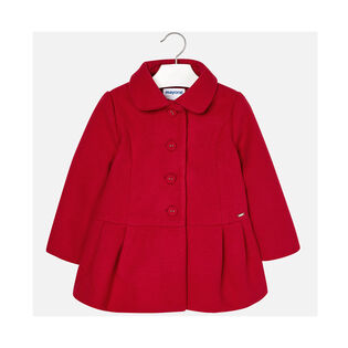 Girls' [4-6] Natural Wool Coat