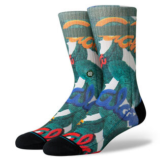 Men's Aloha Leaves Sock