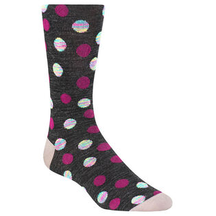 Men's Marled Polka Dot Sock