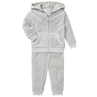 Baby Boys' [3-24M] Velour Hoodie + Pant Two-Piece Set