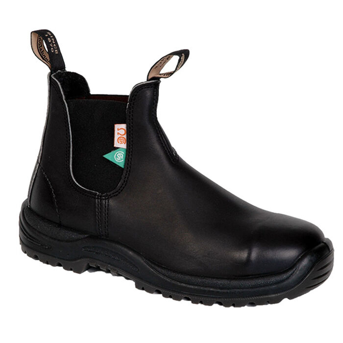 #163 The Greenpatch Boot In Black
