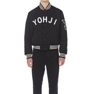 Unisex Yohji Letters Bomber Jacket