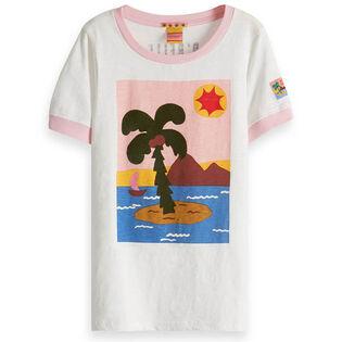 T-shirt à motif d'été pour filles juniors [8-16]