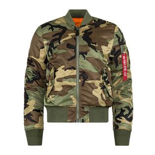 Men's MA-1 Slim Fit Flight Jacket