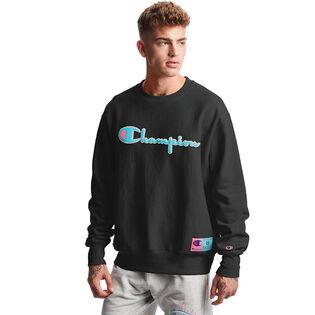 Men's Reverse Weave® Chenille Logo Sweatshirt