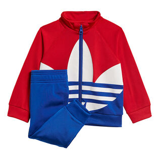 Baby Boys' [6M-3Y] Large Trefoil Two-Piece Tracksuit