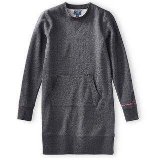 Women's Crew Fleece Sweatshirt Dress