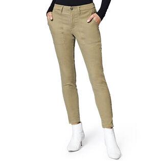 Pantalon chino à glissière Fast Track pour femmes