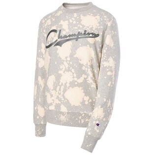 Men's Reverse Weave® Custom Bleach Splatter Sweatshirt