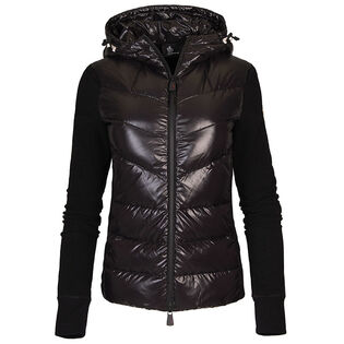 Women's Hybrid Knit Hooded Jacket