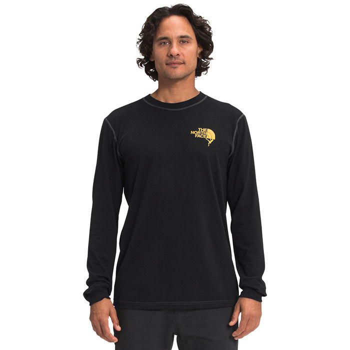 Men's Dome Climb Graphic Long Sleeve T-Shirt