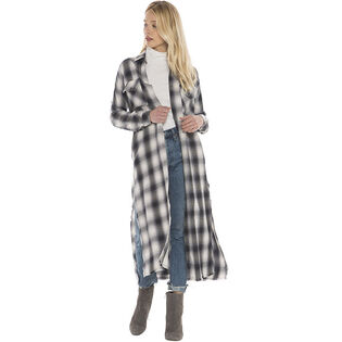 Women's Plaid Duster Dress